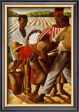 Cotton Pickers Print by Earle Wilton Richardson