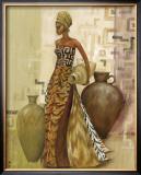 Safari Fashions II Art by Julia Hawkins
