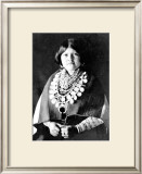 Zuni Ornaments Framed Giclee Print by Edward S. Curtis