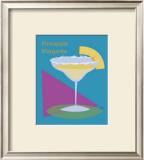 Pineapple Margarita Framed Giclee Print by  ATOM
