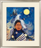Spirit Dancer Framed Giclee Print by Georgia Lesley