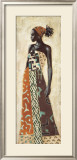 Femme Africaine IV Print by Jacques Leconte