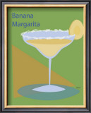 Banana Margarita Framed Giclee Print by  ATOM