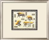 African Graffiti III Prints by Jeff Mebuge