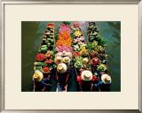 Four Boats, Thalia Print