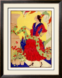 Red Dancer Framed Giclee Print