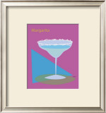 Margarita Framed Giclee Print by  ATOM