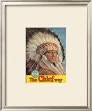 Santa Fe Railroad: The Chief Way, c.1955 Art