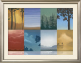 Trees and Misty Prints by Deac Mong
