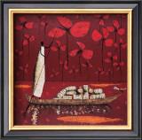 Crimson Sky Art by Michel Rauscher