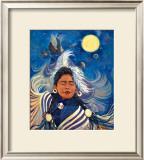 Spirit Dancer Framed Giclee Print by Georgia Lesley