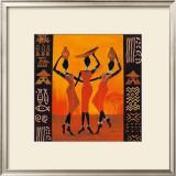 Three Gatherers Prints by Izabella Dahlke