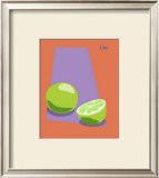 Lime Framed Giclee Print by  ATOM