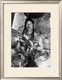 Placating the Spirit of a Slain Eagle, Assiniboin Posters by Edward S. Curtis