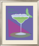 Melon Margarita Framed Giclee Print by  ATOM