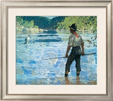 Salmon Fishing, 1927 Posters by Frank Weston Benson