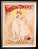 Art Nouveau Theatre Framed Giclee Print by Henri Gray