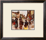 Lenox at 136th Prints by Charles Rucker