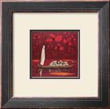 Crimson Sky Prints by Michel Rauscher
