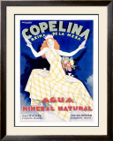 Copelina Framed Giclee Print by Achille Luciano Mauzan