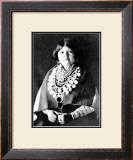 Zuni Ornaments Framed Giclee Print by Edward S. Curtis