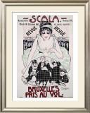 Scala to Bruxelles Framed Giclee Print by Jean-Dominque Van Caulaert