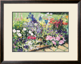 Midsummer Day's Garden I Posters by Heidi Coutu