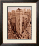 Flatiron Building, New York Poster by Sergei Beliakov