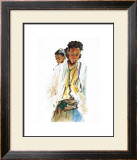 Ethiopian Girls Art by Marion Howard