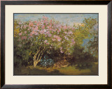 Blossoming Lilac in the Sun, c.1873 Prints by Claude Monet