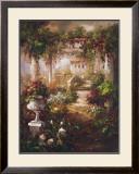 Flowering Trellis Print by  Andino