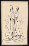 Tango II Prints by Alfred Gockel