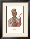 Ne-O-Mon-Ne, an Ioway Chief Art by  McKenney & Hall