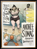 Andree Sumac Framed Giclee Print by Henri Gabriel Ibels
