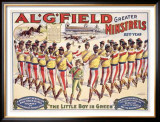 Al Field Minstrels Framed Giclee Print