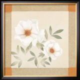 Magnolia Tile II Art by Muriel Verger