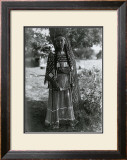 Sioux Maiden Print by Edward S. Curtis