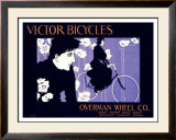 Victor Bicycles Framed Giclee Print by William H. Bradley