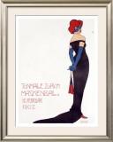 Tonhalle Zurich Maskenball Framed Giclee Print by Sigismund Righini