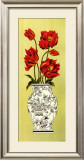 Chinois Tulip Posters by Judy Shelby