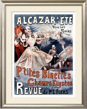 Alcazar d'Ete, P'Tites Binettes Framed Giclee Print by Alfred Choubrac