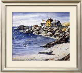 Surf Sand and Rocks Prints by Henry Gasser