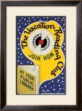 Historic Reading Posters - Vacation Reading Club Art