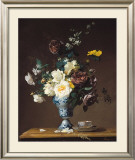 Summer Flowers Print by Francois Rivoire