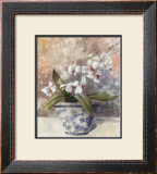Romantic Still Life with Orchid II Print by Tan Chun