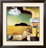 ヘレナ・ルビンシュタインのための壁面装飾 ポスター : サルバドール・ダリ