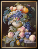 Grapes, Peaches and Plums Posters by Pierre-Joseph Redouté