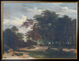 The Heart of the Forest Prints by Jacob van Ruisdael