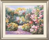 Villa Flora Print by Charles Zhan