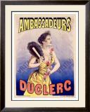 Ambassadeurs Duclerc Framed Giclee Print